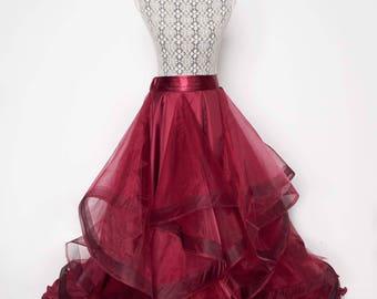 Elegance - Organza Skirt