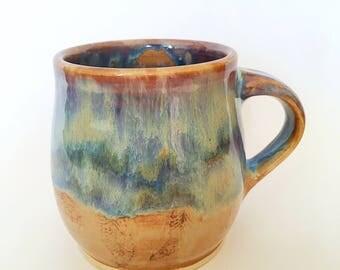 Handmade Ceramic Mug (11 oz)