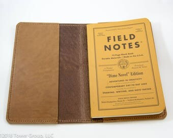 Field Notes Dime Novel/Signature Cover - Horween Leather - Natural