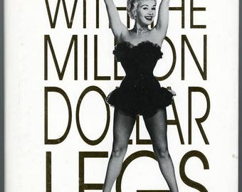 Betty Grable - The Girl with the Million Dollar Legs  by Tom McGee   Vestal Press  BOOK  First Edition Hardcover  1995   416 Wonderful Pages