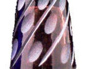 Amethyst Frosted GlassThimble