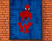 Minimalism Art - Spider-M...