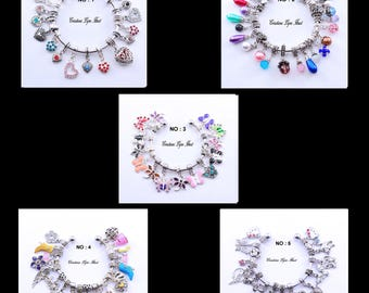 Lot of charms for your charm bracelets - 5 different sets available to choose from