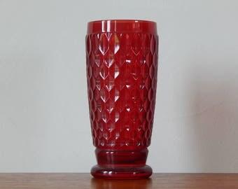 Villeroy & Boch Red Beer Glasses