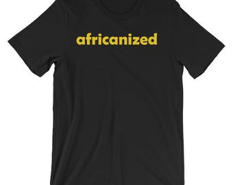 Africanized Cotton t-shirt