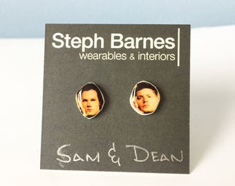 Sam and Dean celebrity stud earrings