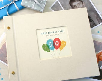 Personalised Birthday Age Photo Album
