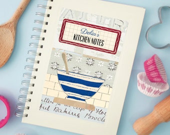 Personalised Cook's Notebook (2 designs available)
