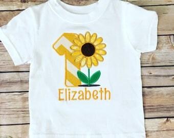 Sunflower birthday shirt  you are my sunshine   sunny birthday  1st 2nd birthday Kanas Sunflower Birthday