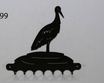 Hangs 26 cm pattern metal keys: land