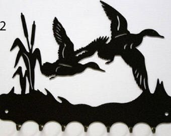 Hangs 26 cm pattern metal keys: flight of ducks