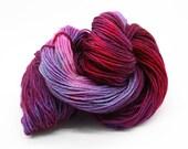 Hand Dyed DK British Jacob Wool Yarn - Mixed Berries