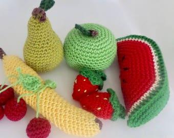 Fruit toys (set of 8)