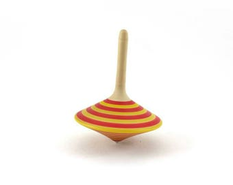 Wooden spinning top - Spinning tops - Wedding favors - Party favours - Goody bags - Wooden games - Woodturning - SilvanWoodturning