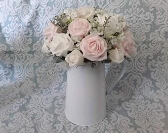 Jug flower arrangement