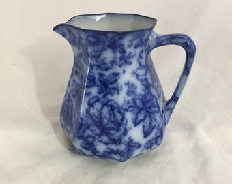 Antique Losol Ware Pitcher In The Cavendish Pattern