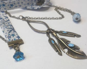Liberty Indian feather necklace