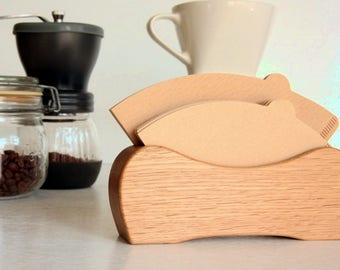 Coffee filter case, Coffee filter holder, Coffee filter stand