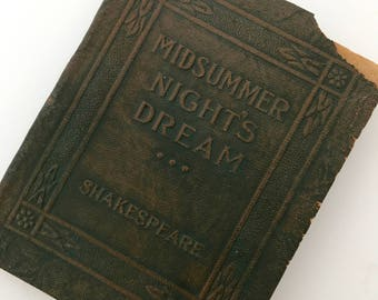 Midsummer Night's Dream - Little Leather Library