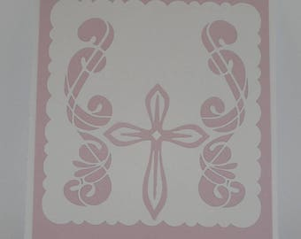 Arabesque lynx communion invitation