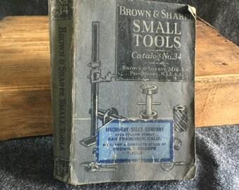 Brown & Sharpe Small Tools Catalog 1941