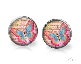 Earrings Butterfly 13