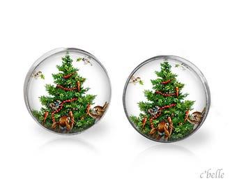 Christmas Earrings Winter-79