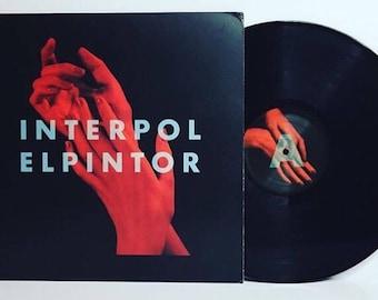 """Interpol-El pintor 12"""" vinyl record album LP"""