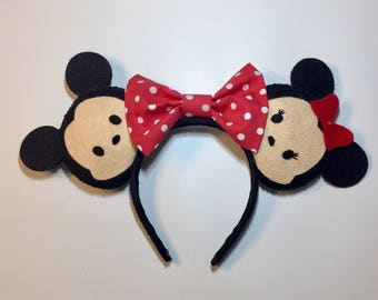 Mickey & Minnie Mouse Tsum Tsum Ears