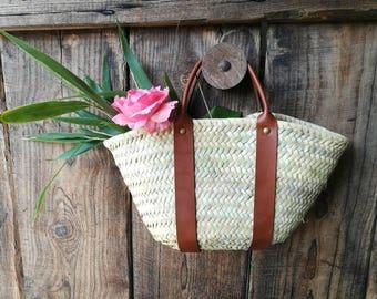 Small Palm leaf basket
