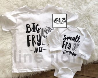 ENDS AT 12AM big middle little shirt, big brother shirt, big sister shirt, little brother shirt, little sister shirt, sibling shirts, baby g