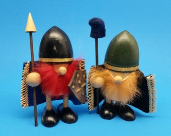 Mid Century Viking Figures