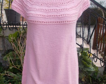 Pullover tunic short sleeve cotton #Collection was