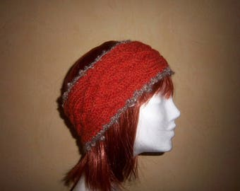 Twisted headband (orange).