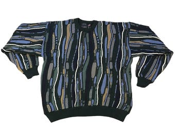 Vintage Biggie/Coogi Style Sweater
