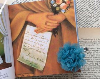 PROMO PRICE Petals&Poems Silk flower brooch