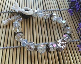 romantic bracelet, Crystal and Swarovski