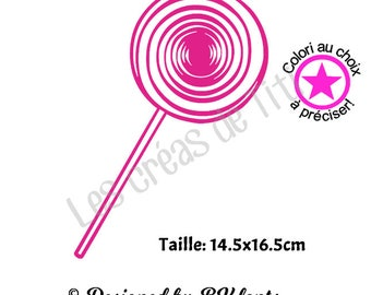 Heat transfer lollipop, heat transfer to iron, lollipop iron on, heat transfer design to iron on clothes, iron on decal lollipop