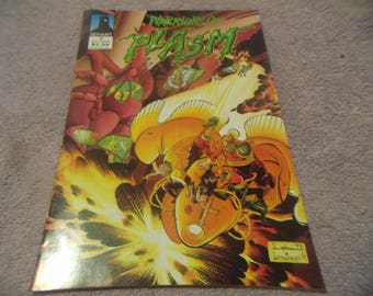 1993 Warriors of Plasm  Defiant comic Book #3