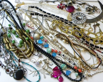 84 piece, all wearable jewelry lot, wearable jewelry lot, no junk jewelry lot, vintage to now jewelry lot, mod jewelry lot, necklace lot