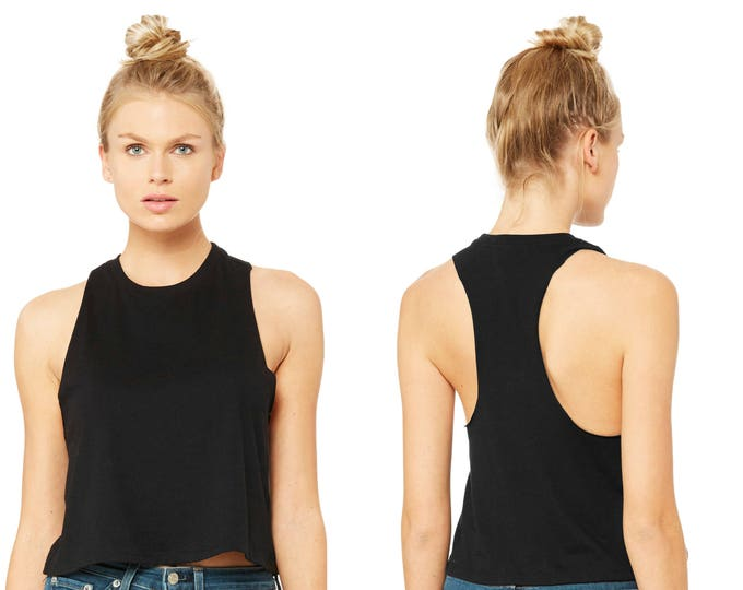 Wholesale Only - Slouchy Tank Black