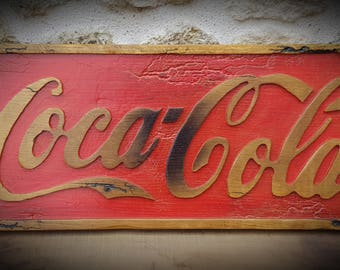 old coca cola sign