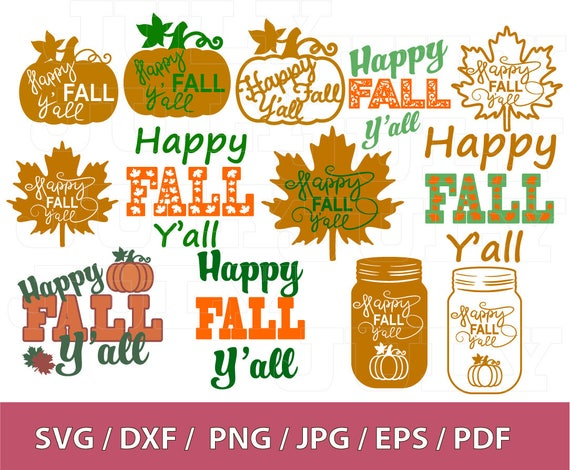 Download 70 % OFF Happy Fall Yall svg Thanksgiving Sayings Fall svg