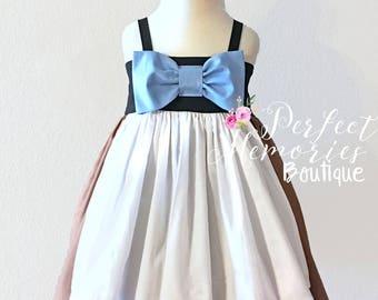 Cinderella Maid Dress | 4T RTS | Cinderella Birthday Party | Princess Dress | Disney Princess | Halloween Costume | Disney Vacation