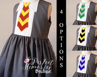 Harry Potter | Harry Potter Dress | Hogwarts Dress | Harry Potter Birthday | Hermione Dress | Harry Potter Costume | Halloween Costume