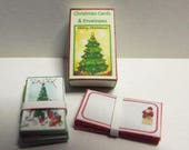 Digital Download Boxed Christmas Cards Dolls House Miniature 1/12th