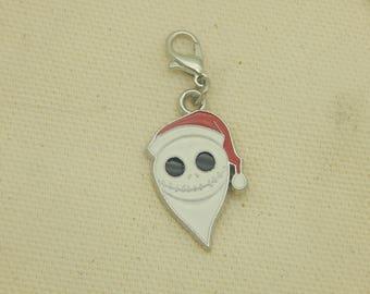 Charm Bracelet Nightmare before Christmas Santa Jack Inspired Charm