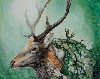 Summer Wildwood Giclee Print