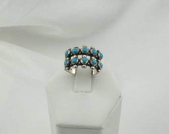 Bell Trading Post Hallmarked Sterling Silver and Turquoise Southwest Native American Navajo Collectable Ring FREE Shipping! #BELL8-SR5
