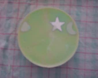 SOAP round rhinestone Apple fragrance